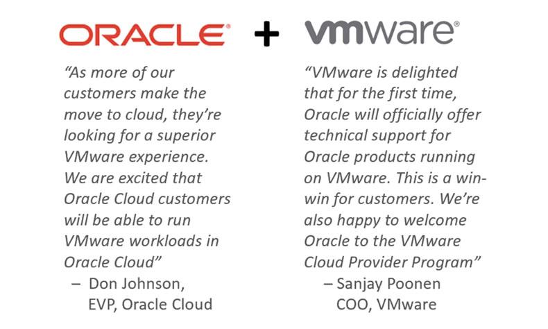 Oracle Cloud et VMware Solution 2