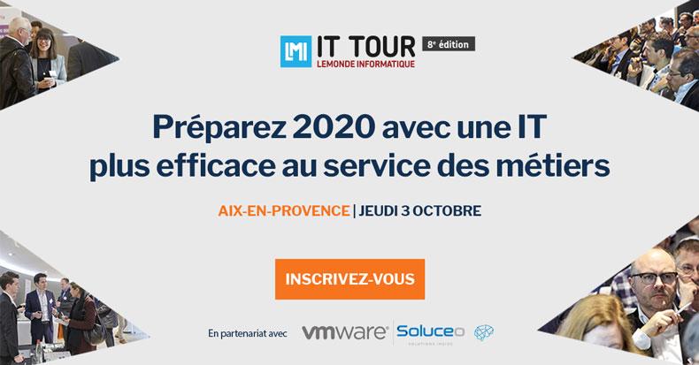 Le Monde Informatique IT Tour avec VMware et Soluceo 1